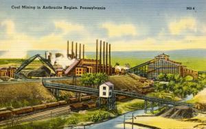 PA - Nanticoke. No. 7 Coal Breaker  (Mining)