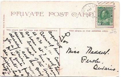 Nova Scotia, Canada, Pictou Harbor  1914