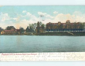Pre-1907 SAINT NICHOLAS HOTEL Peekskill New York NY A2647