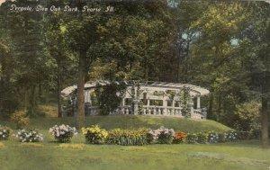 PEORIA, Illinois, 1912; Pergola, Glen Oak Park