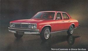 1978 Chevrolet Nova Custom 4 Door Sedan