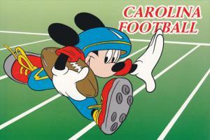 SOUTH CAROLINA, 1950-1970´s; Mickey Mouse Scores A Touchdown, Carolina Football