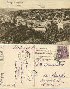 romania, ORAVIȚA ORAVICZA, Panorama (1924) Postcard