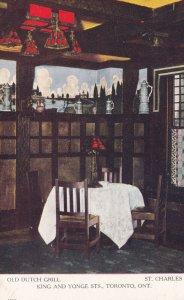 TORONTO, Ontario, Canada, 00-10s; Interior; Restaurant , Old Dutch Grill