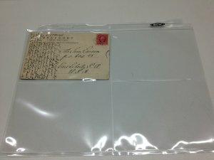 30 4 Pocket 3 1/2 X 5 1/4 Postcards & Photos 3 ring binder Polypropylene Pages