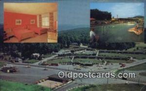 Rheas Resort Motel, Clarion, Pennsylvania, PA USA  Hotel Postcard Motel Post ...