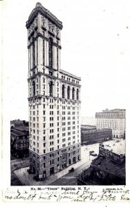 New York City, New York - The Times Building in 1906