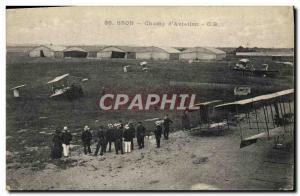 Old Postcard Jet Aviation Bron Field & # 39aviation