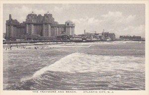 New Jersey Atlantic City The Traymor and Beach Albertype