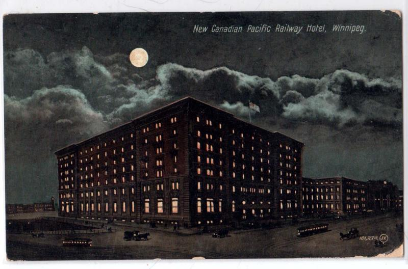 New Canadian Pacific Railway, Winnipeg, Man