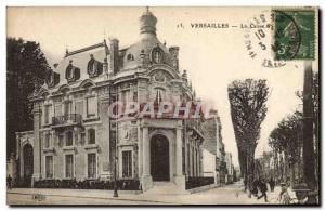 Old Postcard Bank Caisse d & # 39Epargne Vesailles