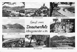 BG34451 gruss vom drachenfels koniswinter a rh germany