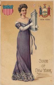 NEW YORK State Girl , 1908
