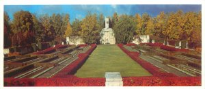 Postcard Riga Latvia warrior cemetery