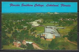 Florida, Lakeland - Aerial View Of Florida Southern College - [FL- 498]