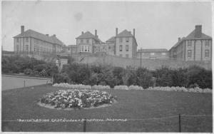 Hastings England East Sussex Hospital Real Photo Antique Postcard J79119