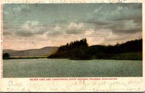 Washington Pullman Silver Lake and Tanglewood State College 1906
