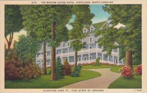 North Carolina Highland The Bascom Louise Hotel