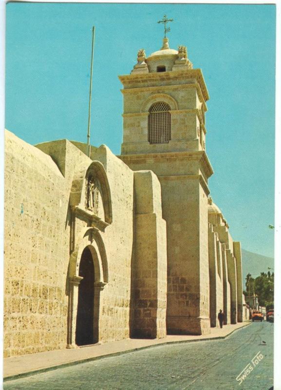 Arequipa, Monastery St. Catherine, Principal porch, 1971 unused Postcard