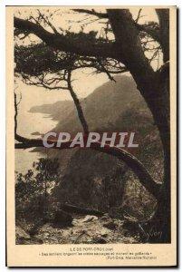 Postcard Old Port Cros Island Var