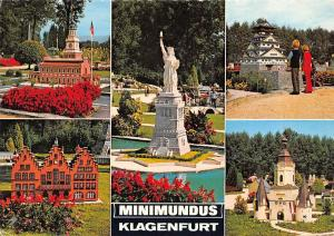 Minimundus Klagenfurt Woerthersee Independence Hall Burg von Osaka Miniature