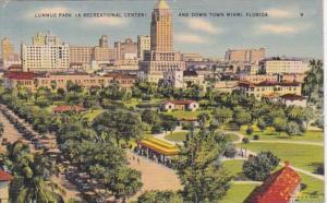 Florida Miami Lummus Park and Downtown