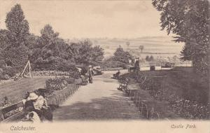 COLCHESTER, Essex, England United Kingdom  Castle Park, PU-