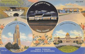 Penna. Turnpike Pittsburgh to Harrisburg - Turnpike, Pennsylvania PA