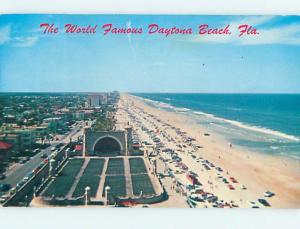 Pre-1980 SCENE AT BEACH Daytona Beach Florida FL M7679