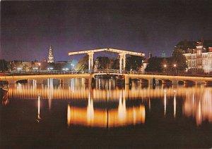 B108771 Netherlands Amsterdam Skinny Bridge Over the Amstel Magere Brug