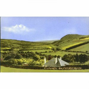 Postcard 'Strathpeffer Spa from Golf Course'