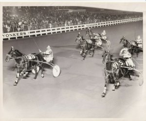 YONKERS RACEWAY, Mars Romeo Wins Harness Horse Race