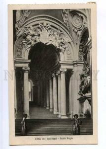 190667 Vatican Scala Regia Vintage postcard