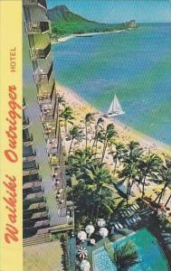 Hawaii Honolulu The Outrigger Hotel Located On the Beach In the Heart Of Waikiki