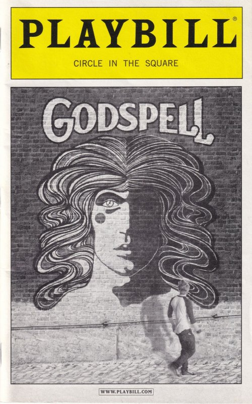 Godspell Circle In The Square Playbill Theatre Programme