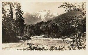 RP; VANCOUVER , British Columbia , Canada , 1920-30s , Capilano River