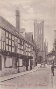 WORCESTER , St Peter's Church & Street , England , 00-10s