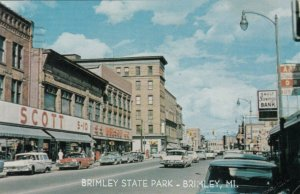 SAULT STE. MARIE , Michigan , 1974 ; Ashmun Street looking north