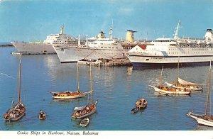 Cruise Ships in Harbour Nassau, Bahamas Virgin Islands Unused