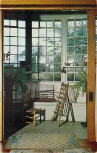 Geneva Indiana~Limberlost State Memorial Interior~Freckles' Bay Window~1950s PC
