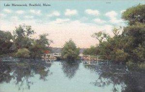 Maine Readfield Lake Maranacook
