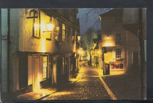 Norfolk Postcard - Norwich - Elm Hill at Night  T7201