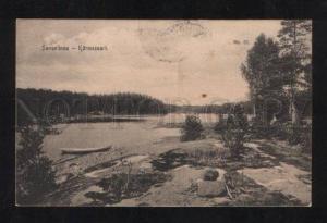 061539 FINLAND Savonlinna Karmesaari Vintage RPPC