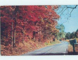 Pre-1980 COUNTRY ROAD Malone - Near Plattsburgh New York NY AD6204