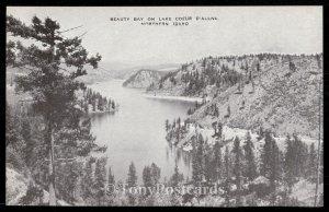 Beauty Bay in Lake Coeur D'Alene