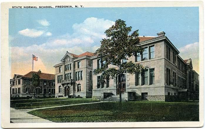 State Normal School Now Suny Fredonia New York Wb Hippostcard
