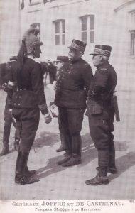 General Joffre WW1 Et De Cantelnau French Military Old Postcard