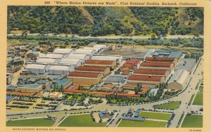 BURBANK , California, 1930-40s ; First National Studios