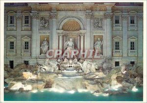 Postcard Modern Roma The Trevi Fountain