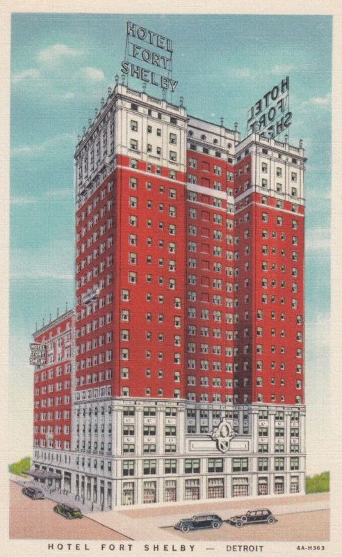 DETROIT , Michigan , 1930-40s ; Hotel Fort Shelby